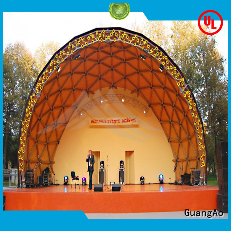 luxury design geodesic dome tent factory price for resort