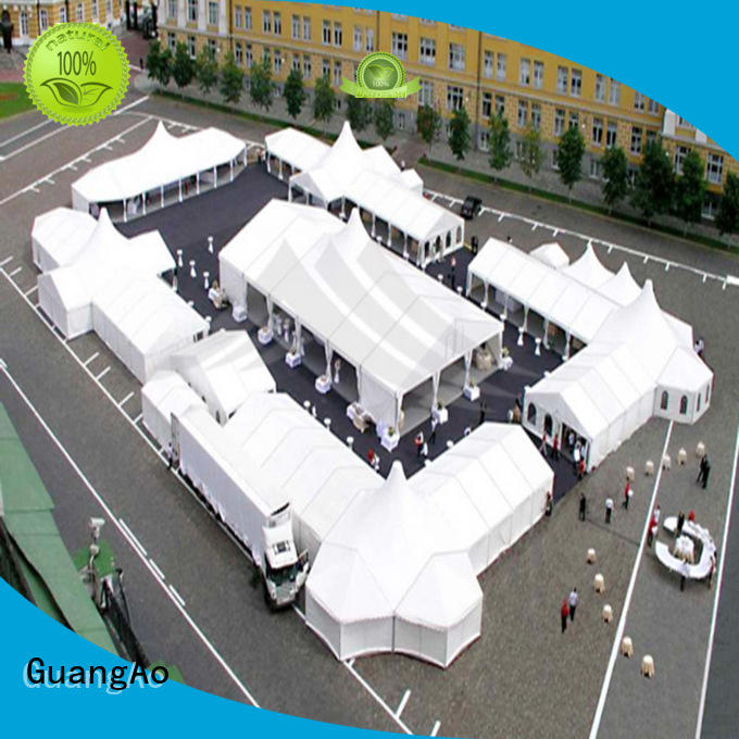 GuangAo high peak high peak tents prices party Exhibitions