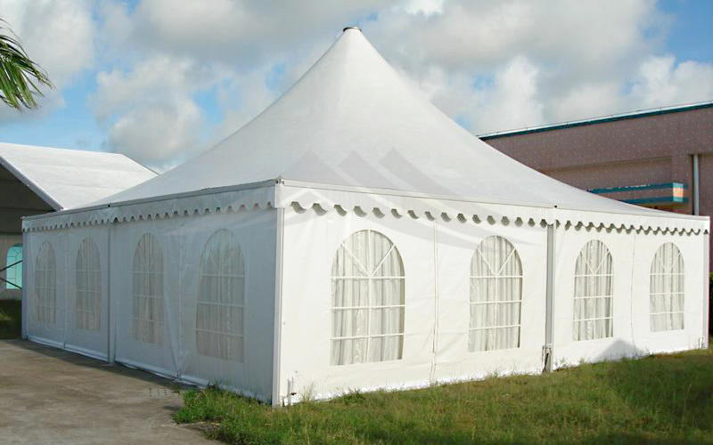GuangAo tent display curve shape for outdoor-1
