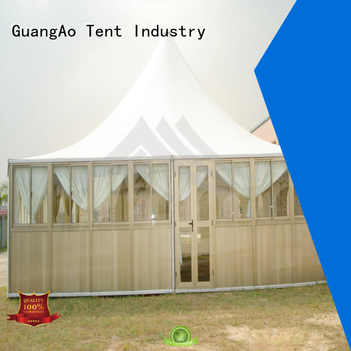 GuangAo buy event tent assembled for exhibition