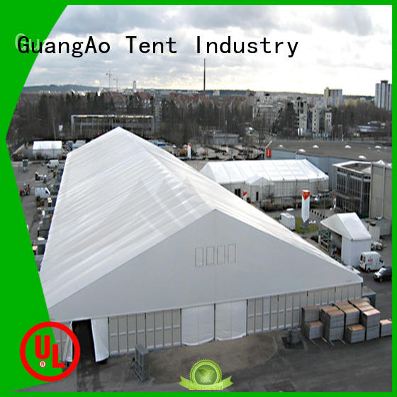 GuangAo tent warehouse structure industrial event