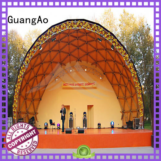 performance geodesic dome tent for sale geodesic semi-circle for resort