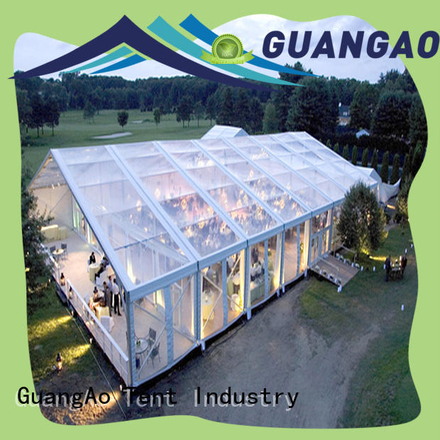 GuangAo high quality large wedding tent factory price for banquet