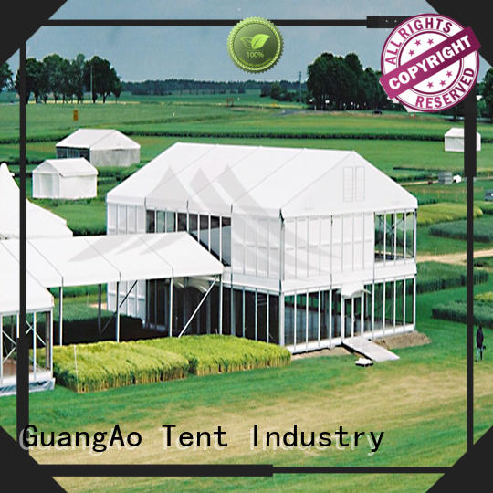 GuangAo water proof deck tent at discount Outdoor Event