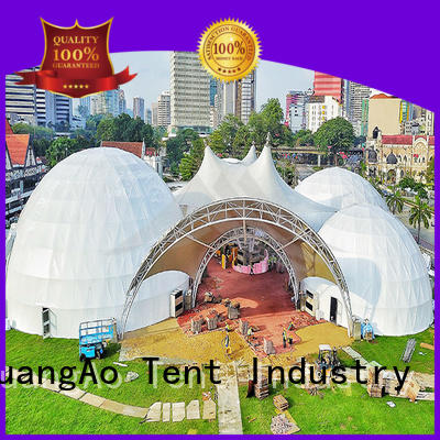 high-qualitygeo dome tent dome semi-circle for outdoor dome