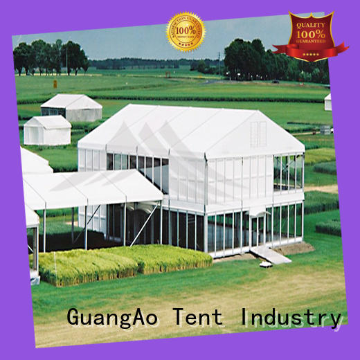 GuangAo water proof deck tent at discount Promotion