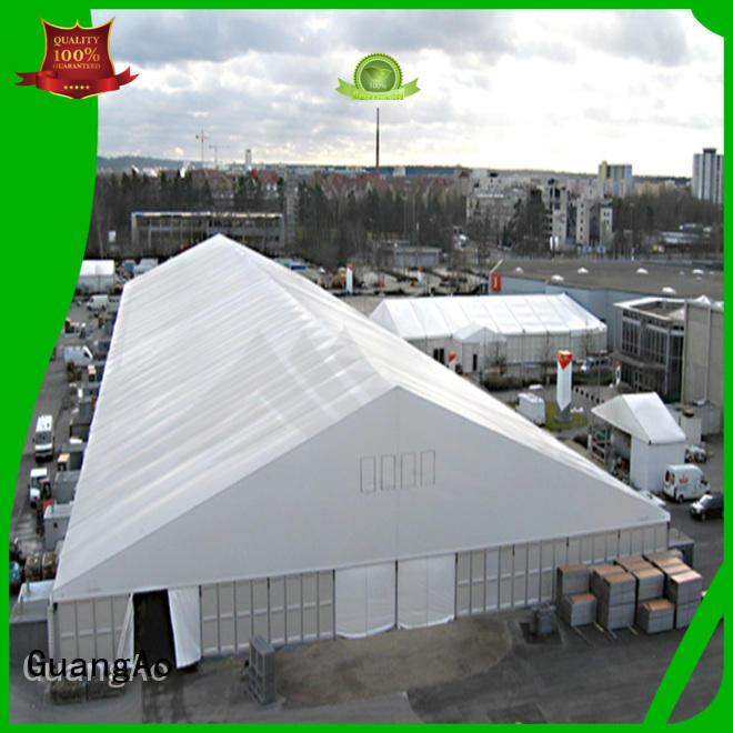 GuangAo fireproof large warehouse tent warehouse Outdoor Storage