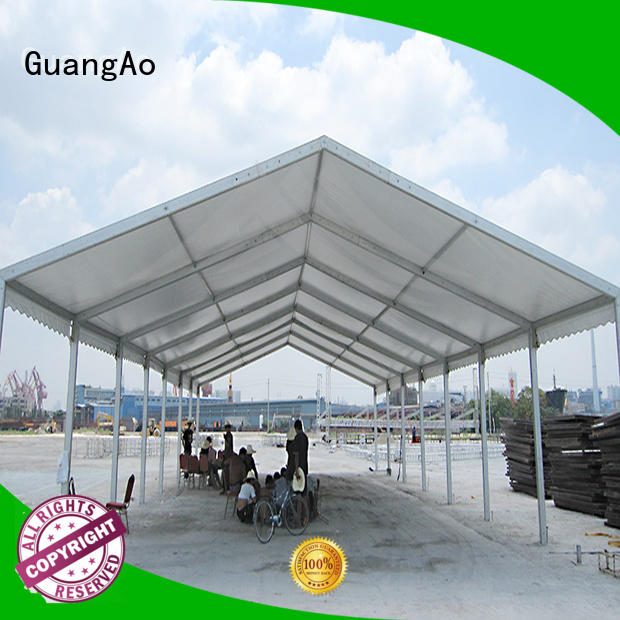 GuangAo factory price outdoor warehouse tents for sale warehouse event