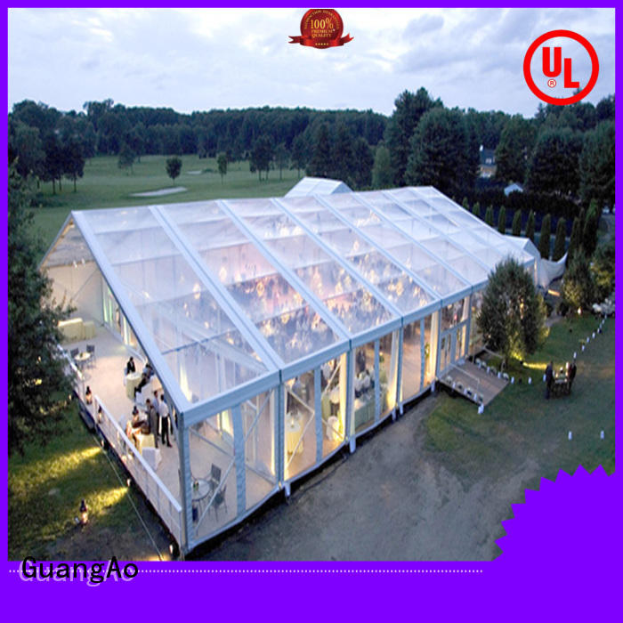 GuangAo tent large party tents luxury marquee party