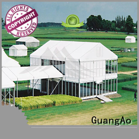 GuangAo deck deck tents canopies latest Exhibitions