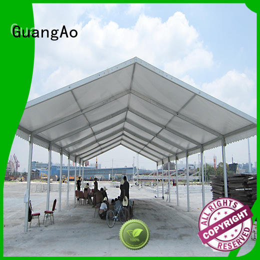 GuangAo fireproof tent warehouse direct warehouse Outdoor Storage