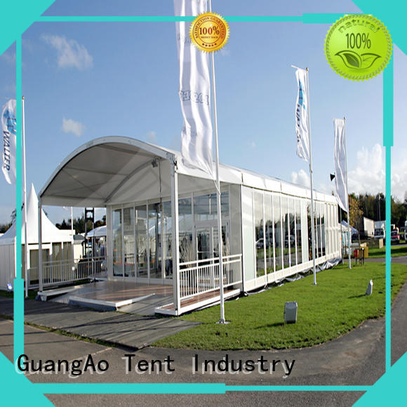GuangAo high safety exhibition tent suppliers exhibition for outdoor