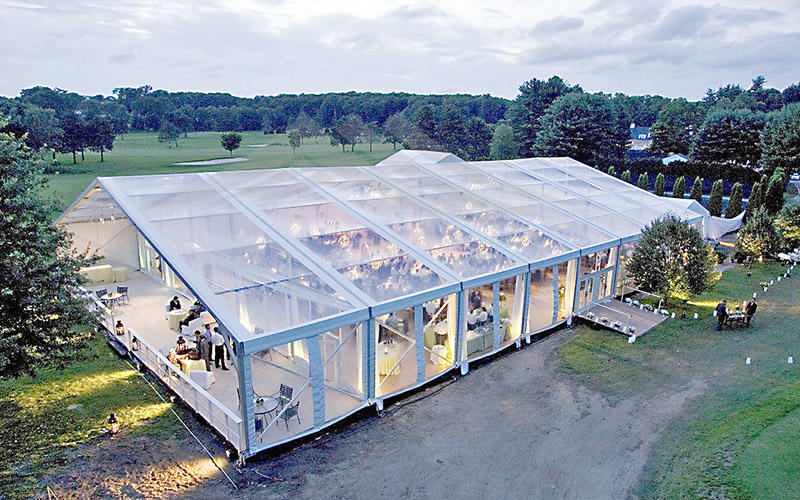 clear clear wedding tent tent with Party-2