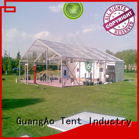 GuangAo clear clear wedding tent lighting Exhibitions