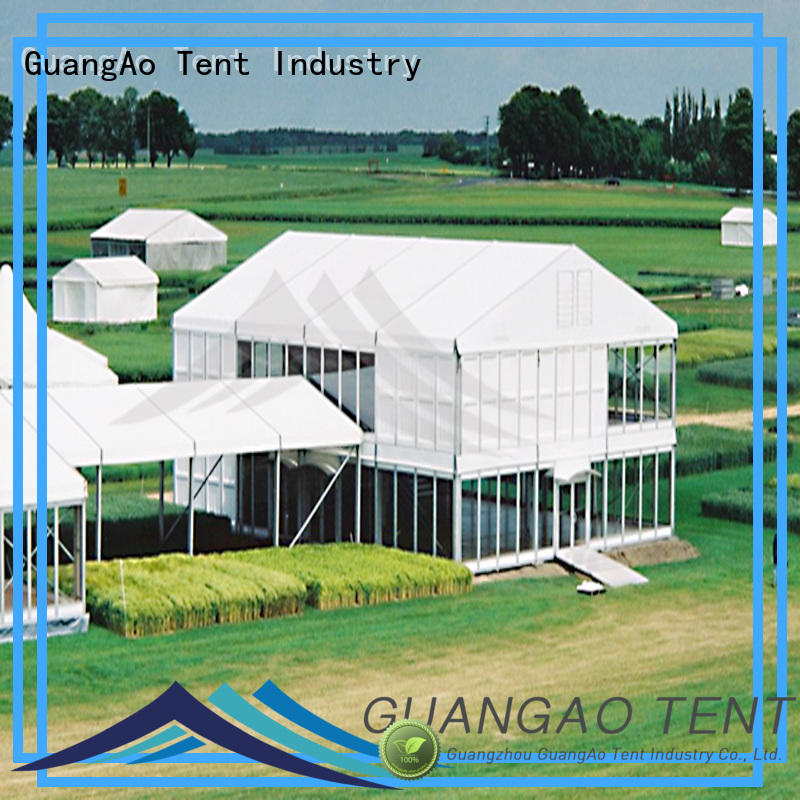 GuangAo water proof awning over deck latest Outdoor Event