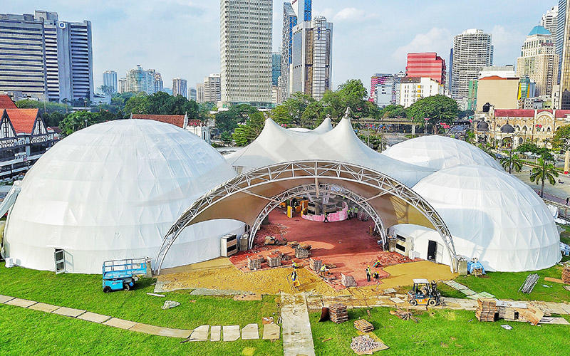 dome event dome tent semi-circle for outdoor dome-1