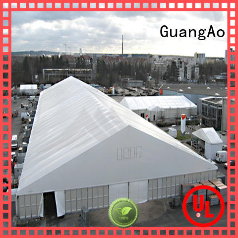 GuangAo industrial outdoor warehouse tents wind resistant event