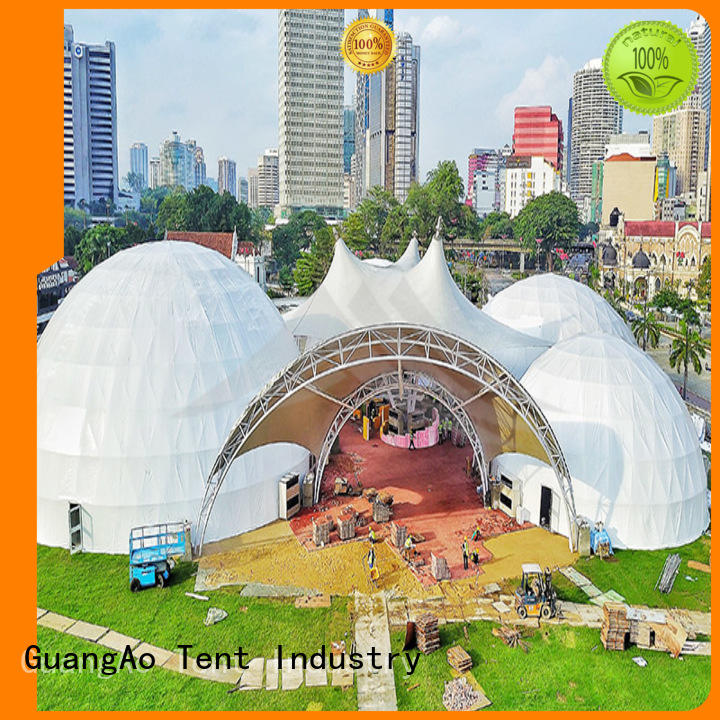 dome event dome tent semi-circle for outdoor dome
