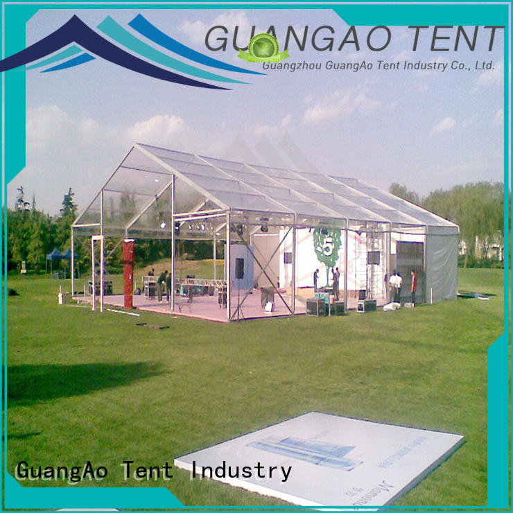 GuangAo clear clear top tent wedding Wedding