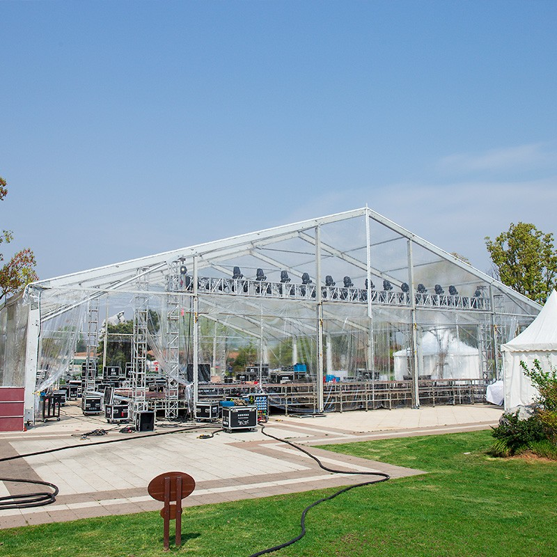 GuangAo-Guangao design a clear tent for a group year-end ceremony | News-2