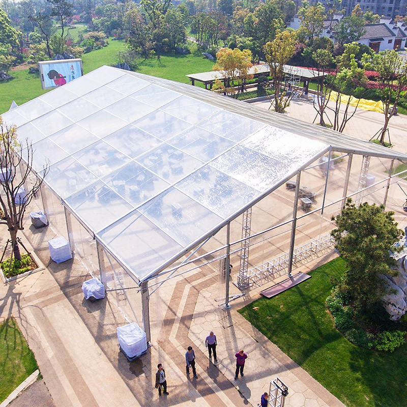 GuangAo-Guangao design a clear tent for a group year-end ceremony | News-1