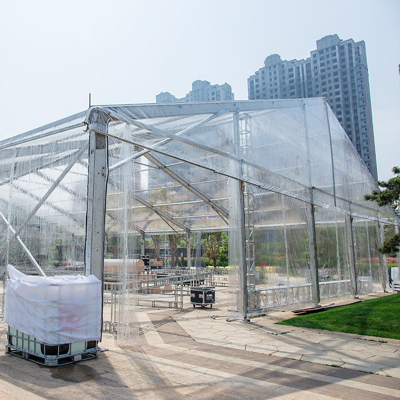 GuangAo-Guangao design a clear tent for a group year-end ceremony | News-4