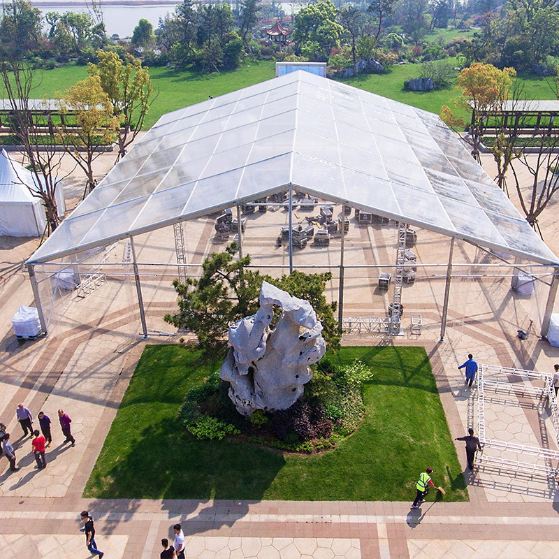GuangAo-Guangao design a clear tent for a group year-end ceremony | News