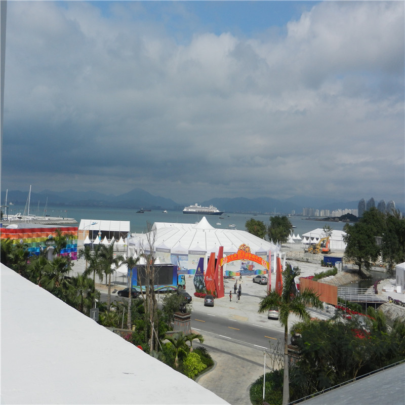 GuangAo-Mixed Peak Tent For Sailing Boat Exhibition Event - Guangao Tent Industry-1