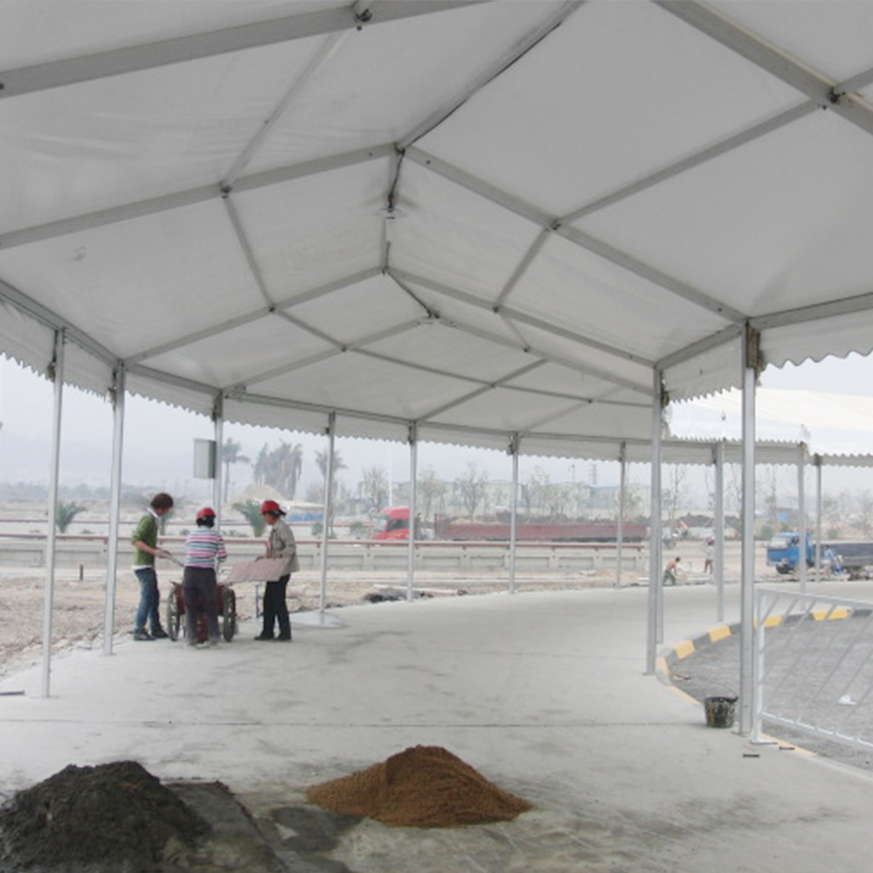 GuangAo-Guangzhou High-speed Railway Station Tent Project | Transparent Tent
