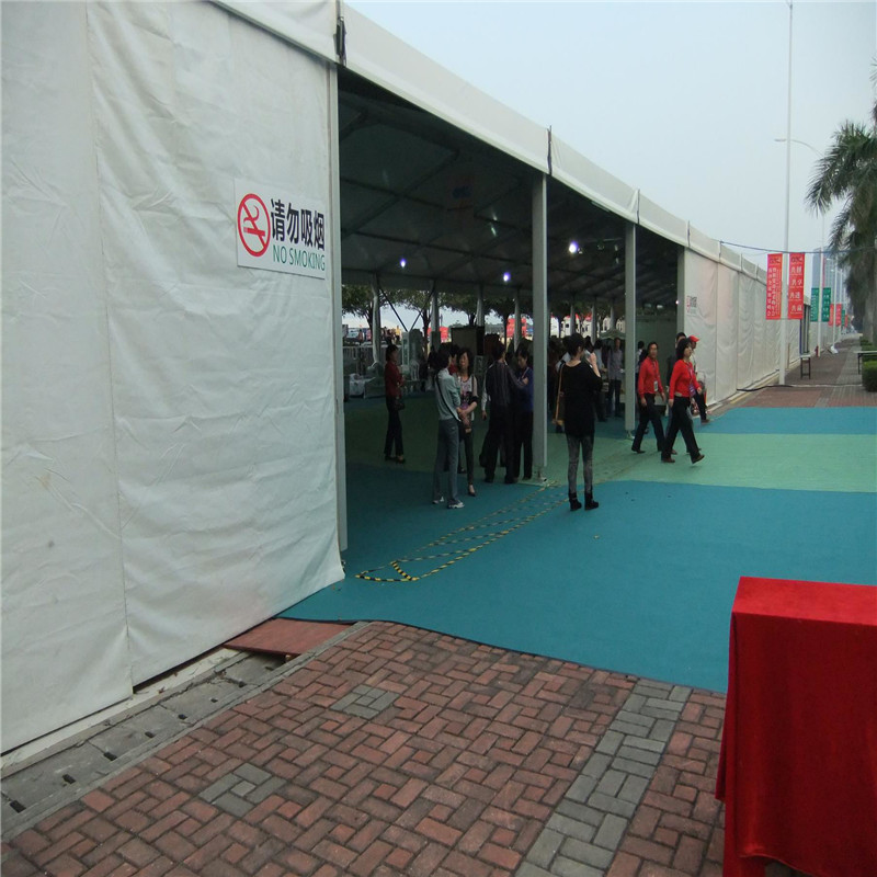 GuangAo-Large Event Tent For Nansha Global Merchandising Fairy News About Clear Tent-1