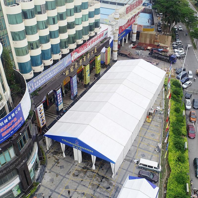 GuangAo-Dongguan Hardware Mold Exhibition Tent Project - Guangao Tent Industry