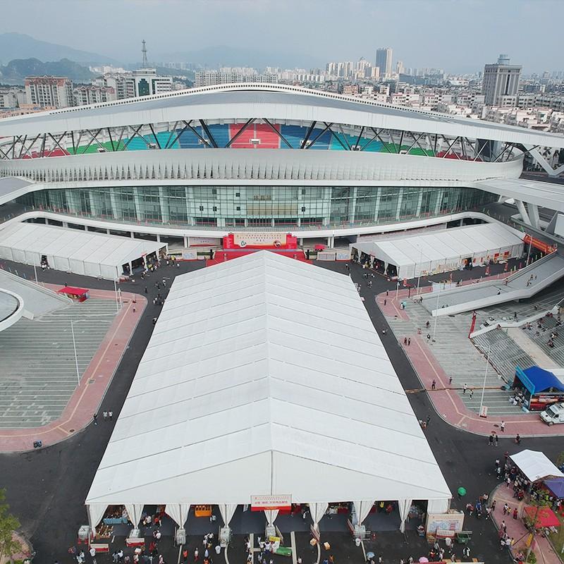 GuangAo-Zhaoqing Calligraphysupplies Exhibition Tent Project   News On Guangao