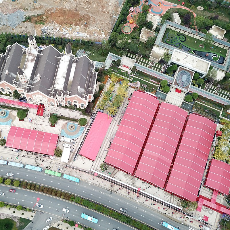 GuangAo-Guiyang Evergrande Tourism City Open Activity Designated Tent Suppliers-1