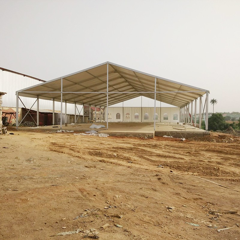 GuangAo-Nigerian Cases Of Tent Building | Double Decker Tent-2