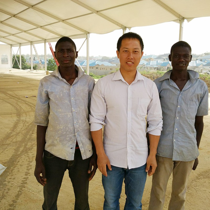 GuangAo-Nigerian Cases Of Tent Building | Double Decker Tent-3