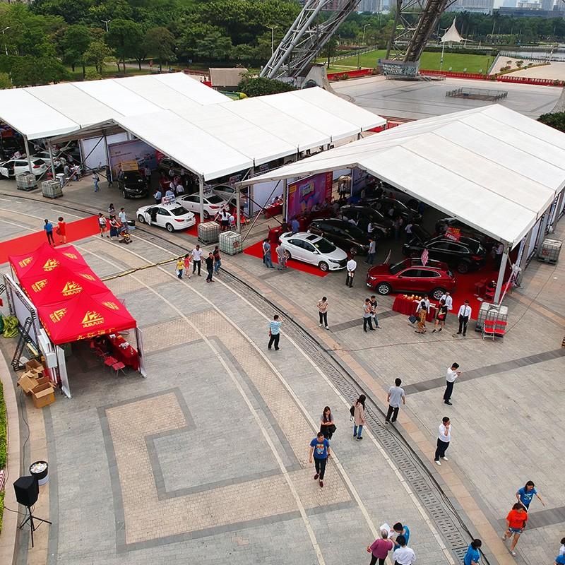 GuangAo-Foshan 7th Huimin Car Exhibition Tent Case | News