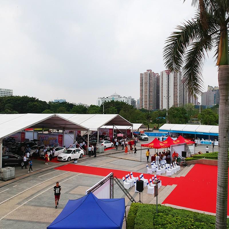 GuangAo-Foshan 7th Huimin Car Exhibition Tent Case | News-1